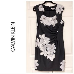 JUST IN❗️CALVIN KLEIN FLORAL DRESS